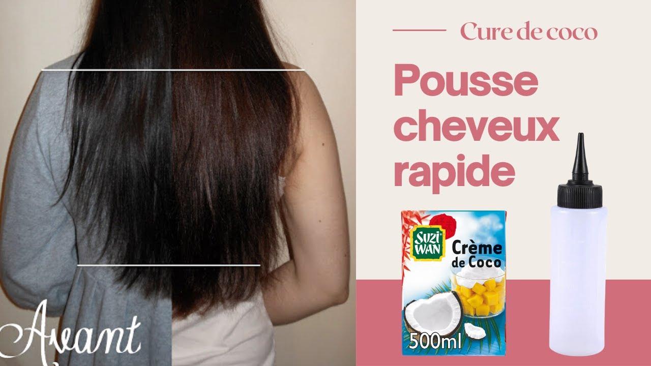 cure de lait cr 232 me coco pour faire pousser ses cheveux plus vite