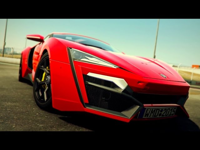 Project CARS - Free Car No. 1: Lykan Hypersport