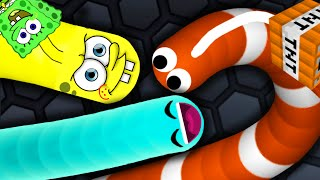 Slither.io - STRONG BAD SNAKE #3 // SLITHER.IO GAMEPLAY (Slitherio Funny/Best Moments)