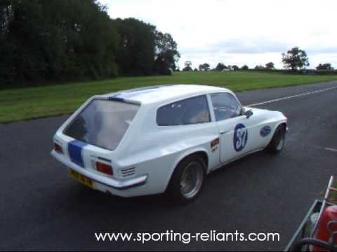 Supercharged Scimitar at Curborough Sprint Circuit