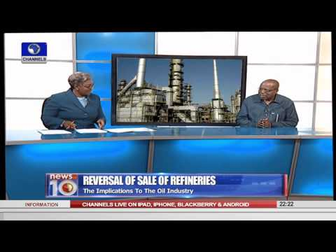 News@10: Implication Of Sale Reversal On Refineries 03/09/15 Pt.2