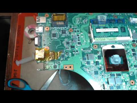 Asus K53E Laptop DC Jack Replacement