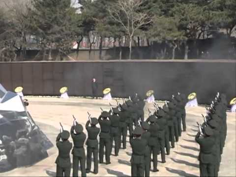 Remains of Chinese Korean War soldiers buried
