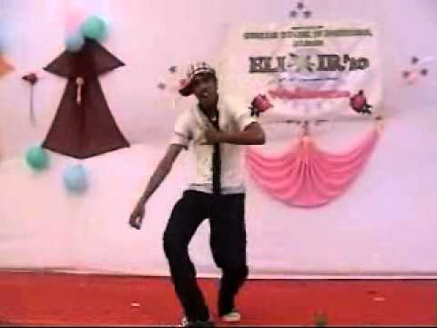 NILESH PATIL (NIL) First DANCE on premika ne pyar se in Fresher...