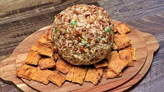 Keto Cheese Ball Recipe - Keto Snacks - Keto Meals Recipe