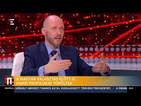 Hamis profilokat töröltek a magyar választás előtt - Keleti Arthur - ECHO TV