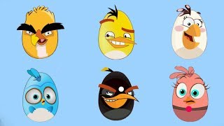 Surprise Eggs Of Angry Birds - Surprise Eggs Game - Gameplay for Baby Kids