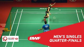 QF MS CHEN Long CHN 3 vs Anthony Sinisuka GINTING INA 6 BWF 2019
