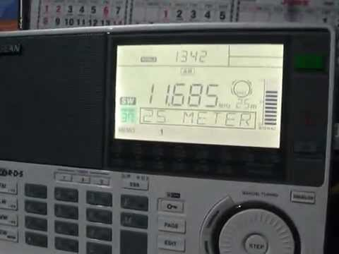Radio Japan Bengali on Sangean ATS 909X - first impressions the new receiver