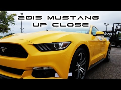 2015 Mustang BEST UP CLOSE WALKAROUND 2.3L TurboCharged EcoBoost  Details Review