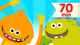 How Many Fingers? + More | Kids Songs | Super Simple Songs