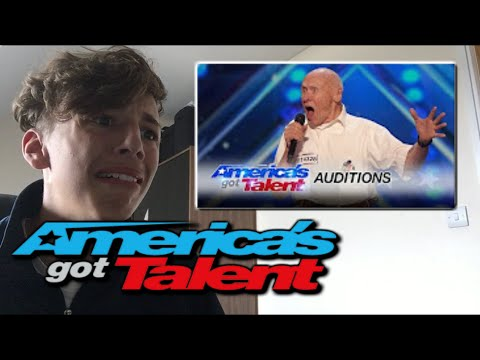 John Hetlinger 82 Yr Old Shocks with Hard Rock Cover - America's Got Talent 2016 - Reaction!!