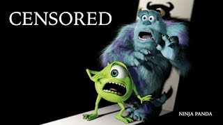 MONSTERS INC UNIVERSITY | Unnecessary Censorship  | Try Not To Laugh
