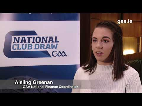 GAA National Club Draw 2019