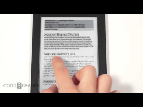 Amazon Kindle Paperwhite 2 PDF Experience