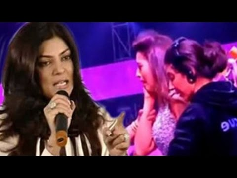 Sushmita Sen's SHOCKING REACTION on Gauhar Khan's SLAP CONTROVERSY