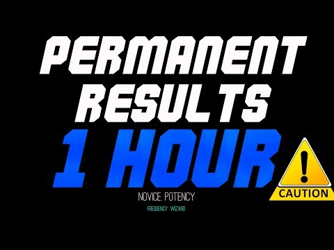 ⚡️GET PERMANENT SUBLIMINAL RESULTS IN 1 HOUR! PROCEED WITH CAUTION! NOVICE POTENCY -FREQUENCY WIZARD