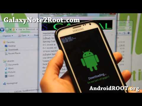 How to Unlock Bootloader on Verizon Galaxy Note 2 SCH-i605!