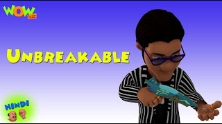 Unbreakable - Motu Patlu in Hindi - 3D Animation Cartoon for Kids -As seen on Nickelodeon