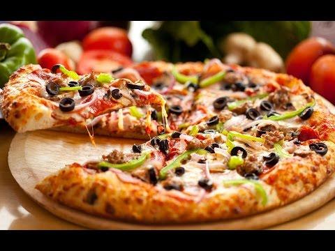 Тесто для пиццы- быстрое не дрожжевое тонкое и вкусное. Тесто для пиццы без дрожжей на молоке.