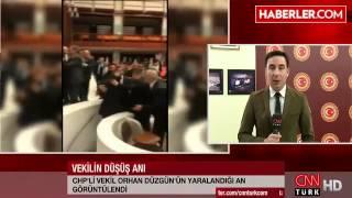 Meclis'te Yine Kavga Çıktı! CHP'li Vekil Merdivenlerden Düştü