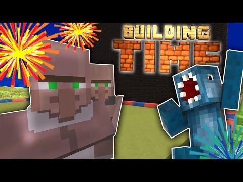 Minecraft Xbox - FIREWORKS DISPLAY! - Building Time! [#7]