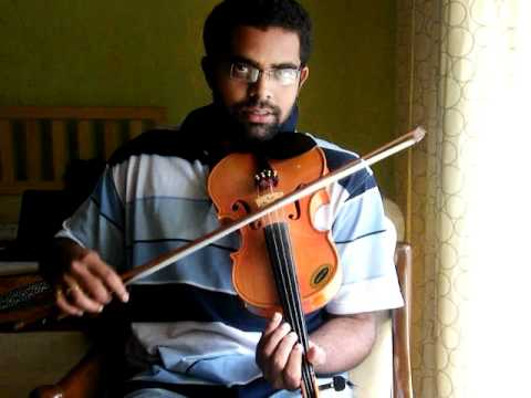 Lagan Lagi Tumse Mann ki Lagan in Violin by Subramoni Rengarajan...