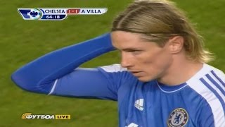 Fernando Torres vs Aston Villa Home 11-12