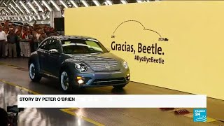 Last Volkswagen Beetle rolls off the belt as VW retires famous car