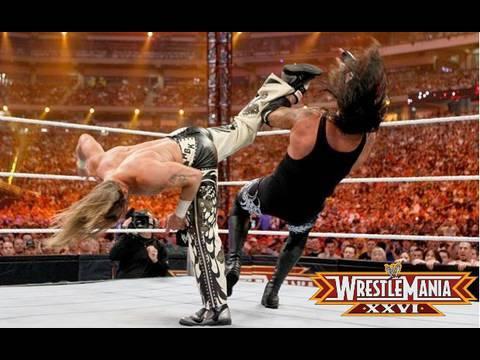 WrestleMania 26 review (Streak vs Career- Undertaker vs Shawn Michaels)
