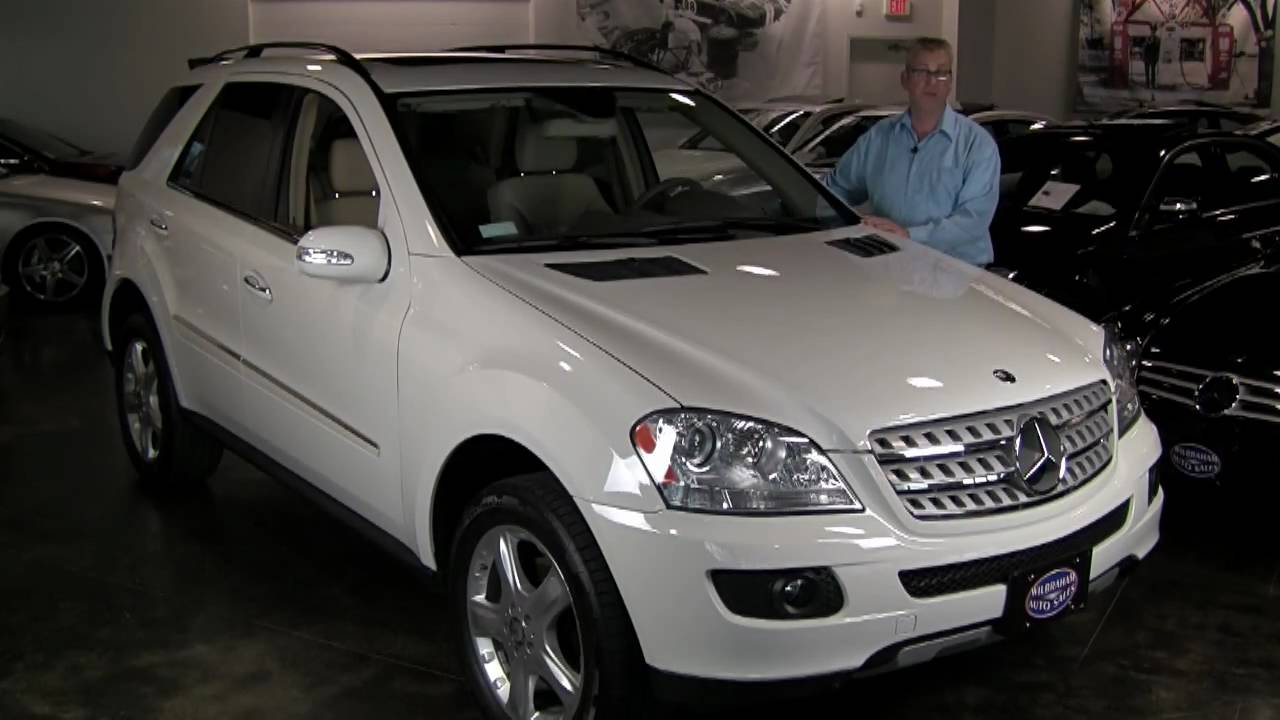 "Mercedes For Sale >> 2008 Mercedes-Benz ML350 4MATIC - Appearance Pkg, 19"" Alloys, Backup Camera, iPod, Nav - 17,416 ..."
