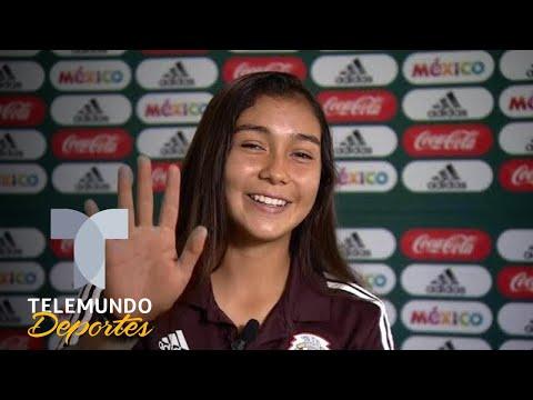 Nicole Pérez, la azteca que es fan de Iniesta   Selección Mexicana   Telemundo Deportes