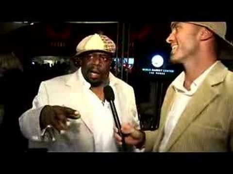 Cedric the Entertainer on Vegas Grand Prix