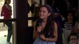 "Ariana Grande sings songs from the musical ""Wicked"""