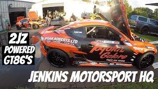 Worlds Wildest Toyota GT86 x 2 - Jenkins Motorsport HQ