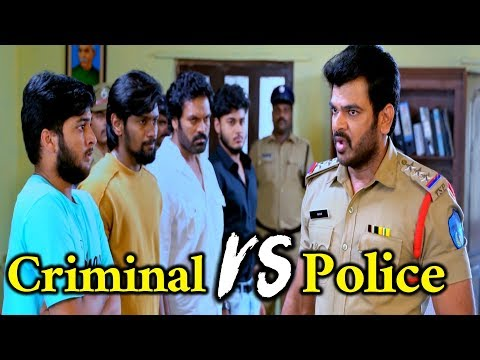 Criminal VS Police | Ultimate Scene | 2018 Telugu Latest Movie Scene | Telugu Cinema