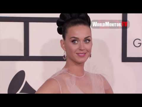 Katy Perry arrives at 56th Annual GRAMMY Awards Redcarpet