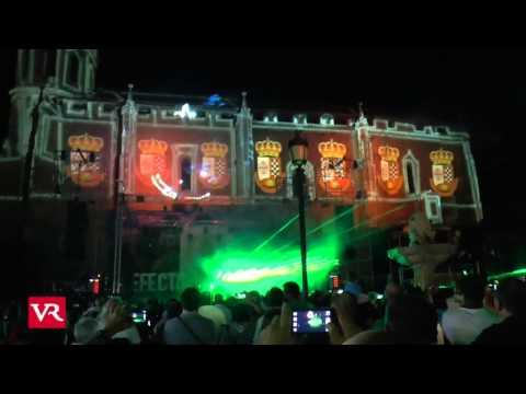 Valdepeñas: Espectáculo Multimedia en la plaza de España