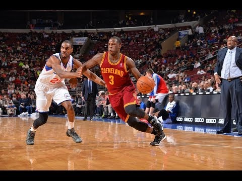 Dion Waiters Brings the MAJOR Facial Over Spencer Hawes