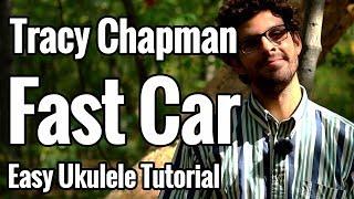 download lagu Tracy Chapman - Fast Car - Ukulele Tutorial With gratis