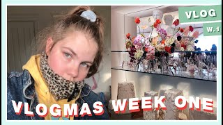 going to new york by myself and being a hot mess!!! | VLOGMAS WEEK 1