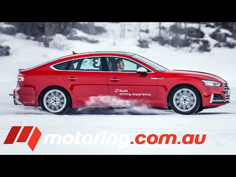 How to drift on ice with Audi Quattro