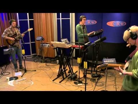 "Alt-J performing ""Fitzpleasure"" on KCRW"