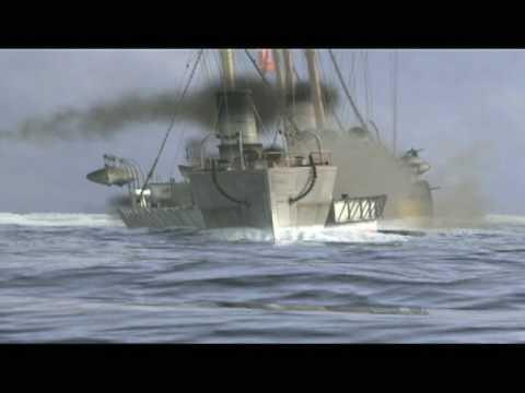 """Batalla Naval de ANGAMOS, Serie """"Héroes Las Batallas"""", Canal 13 - Geográfica Producciones."""