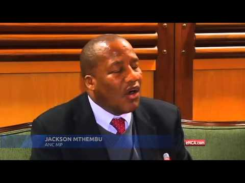 ANC blames EFF for chaos in Parliament