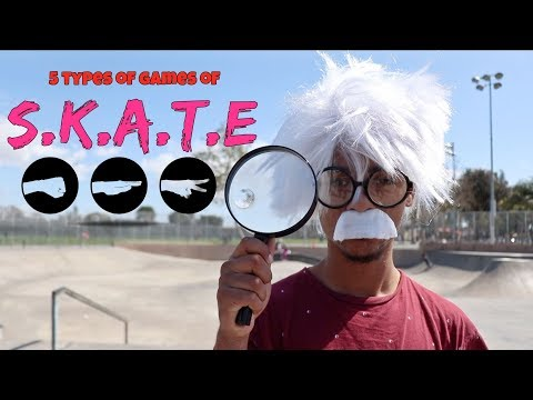 5 Types of Games of S.K.A.T.E