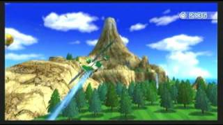 Wii Sports Resort Air Sports Island Flyover