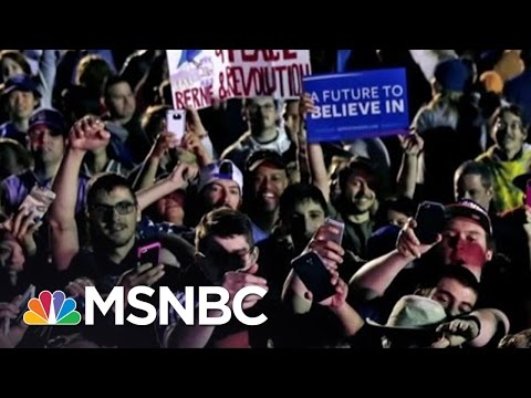 Hillary Clinton, Bernie Sanders At Unity Impasse | Andrea Mitchell | MSNBC