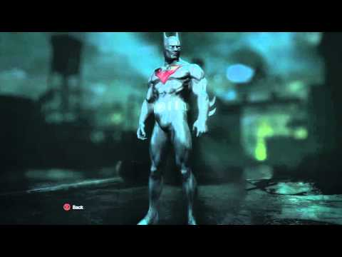 Batman Arkham City Suits Batman Arkham City Costume Dlc