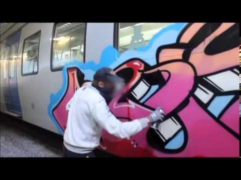 Graffiti sweden 2014 SBR CREW